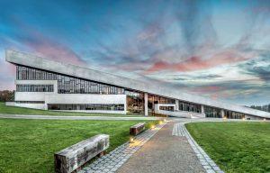 Indgang til Moesgaard Museum