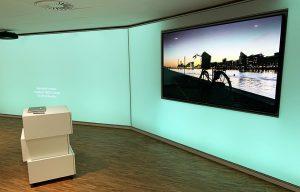 Stor LED præsentations skærm