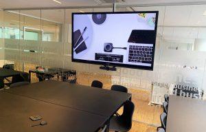 Mødelokale med mulighed for digitale møder