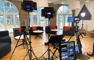 Streaming setup i Silkeborg