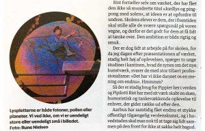 Udsnit af artikel fra Berlingske